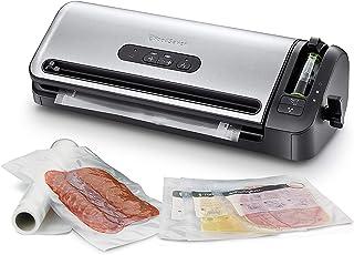 FoodSaver Machine Sous Vide avec compartiment de rangement pour rouleau et cutter, fonction marinade, inclus sacs de mise ...