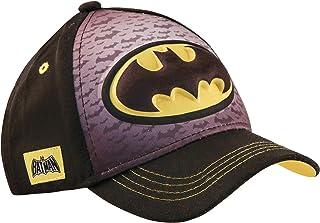 DC Comics Boys Baseball Cap with 3D POP: Batman, Superman and Justice League (Ages 2-7)