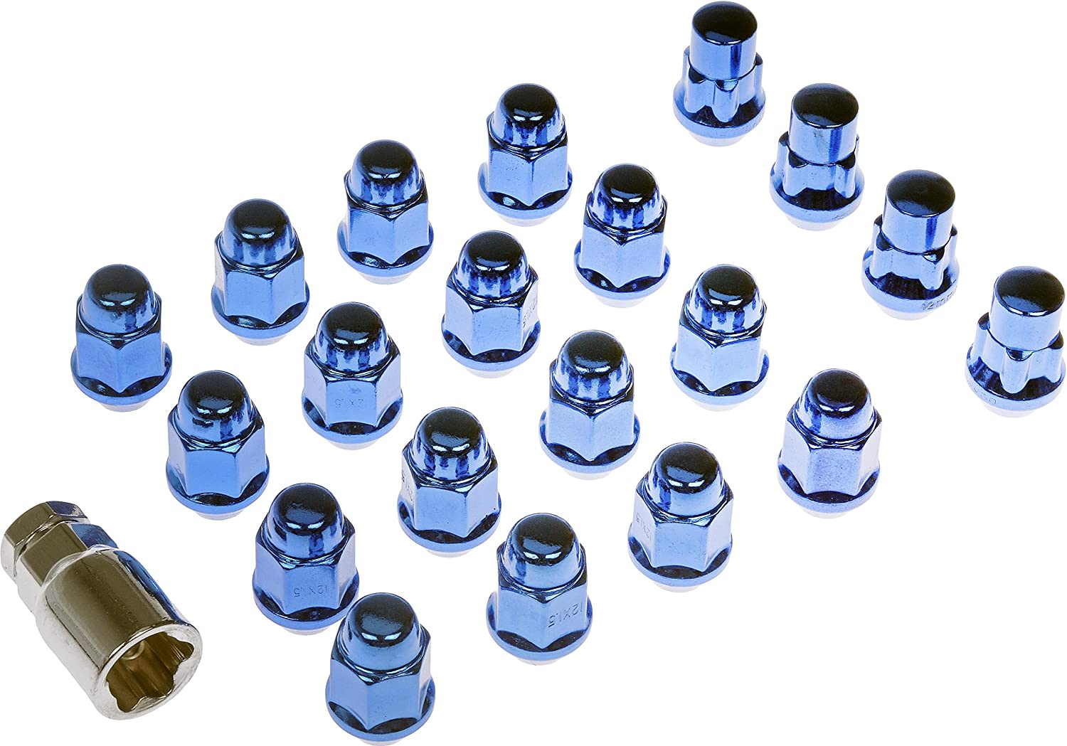 Dorman 711-342 Pack of 16 Wheel 4 and Key with Lock Nuts Reservation Quantity limited