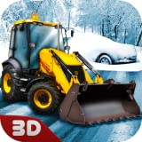 Snow Rescue Excavator Sim: Digger Games | Snow Plowing Construction Simulator Saving Games Heavy Equipment