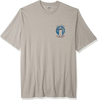 IZOD Men's Big and Tall Short Sleeve Graphic T-Shirt