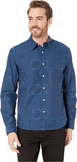 Long Sleeve Indigo Shirt