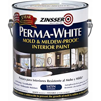 Rust-Oleum Corporation 02711 Mold and Mildew Proof Interior Paint, 1-Gallon, Satin