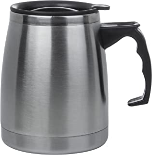 Maxam KTMUGBT Double Wall Stainless Steel Boat Mug, 16 oz