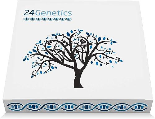 Test de ADN 6 en 1: Salud, Nutrigenética, Deporte, Cuidado de la Piel, Farmacogenética y Ancestros - Analiza 400 Rasg...