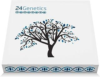 Test de ADN 24Genetics 6 en 1: 400 rasgos únicos acerca de Salud, Nutrigenética, Deporte, Cuidado de la Piel, Farmacogenét...