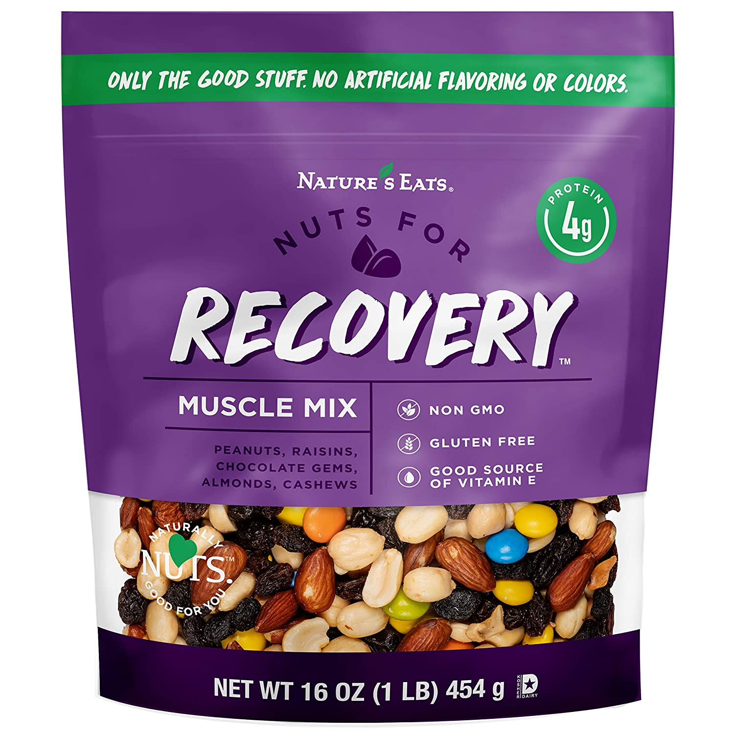 Nature's Free shipping / New Eats Nuts for Recovery Assorted Ranking TOP19 Oz Trail Mix Muscle