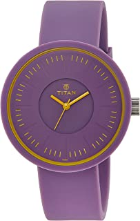 Titan Youth Analog Purple Dial Women's Watch - 9953PP03J