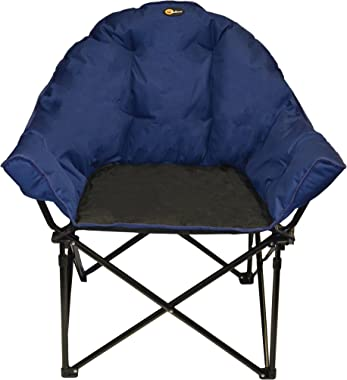 Faulkner 49575 Big Dog Bucket Chair, Blue/Black