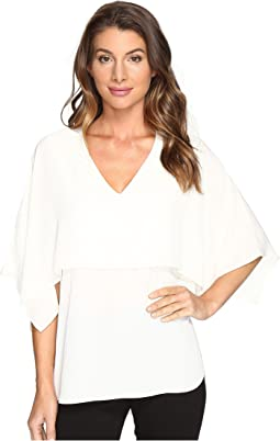 V-Neck Double Layer Top