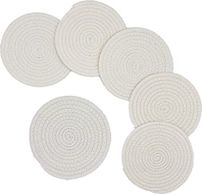 Benson Mills Petal Round Placemats Set Of 4 Coral Amazon Ca Home Kitchen