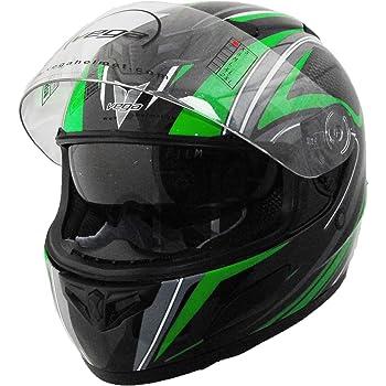 Vega Insight Full Face Helmet Replacement Drop Down Shield Light Smoke