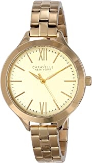 Caravelle New York Women's 44L127 Stainless Steel Watch