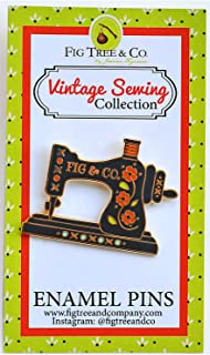 Fig Tree Quilts FTQPIN103 Sewing Machine Enamel Pin