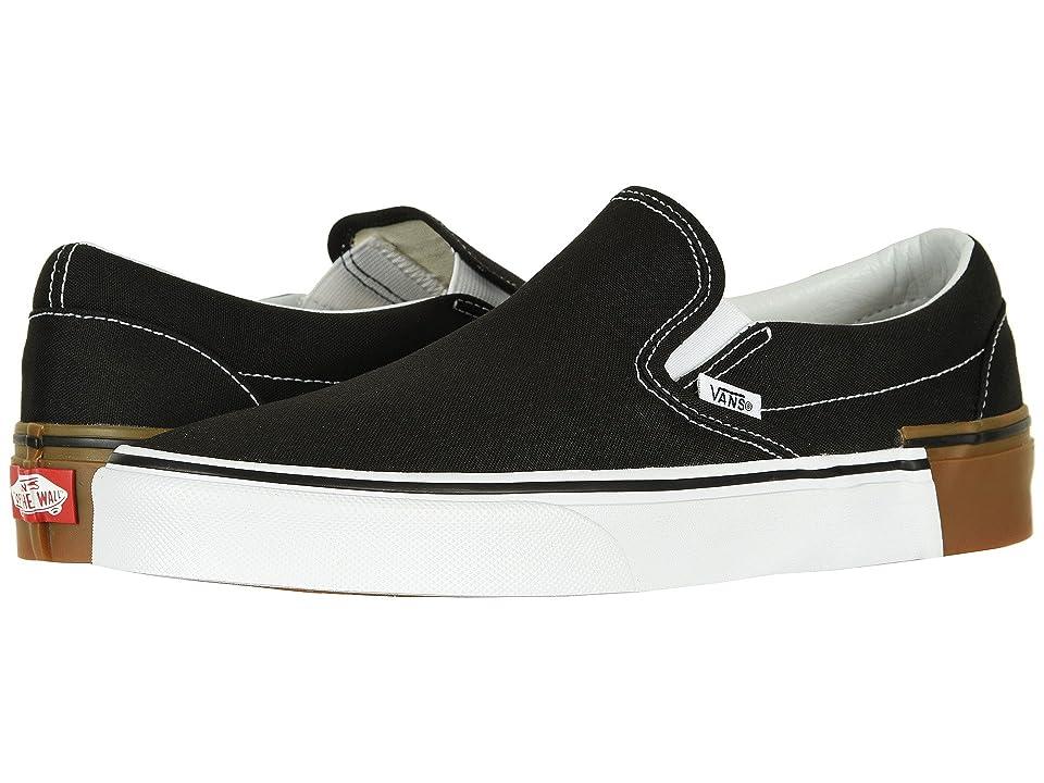 Vans Classic Slip-Ontm ((Gum Block) Black) Skate Shoes