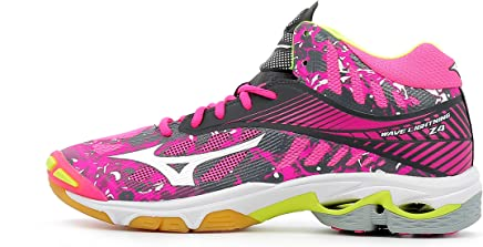 new product cc31b fe4fa Mizuno Wave Lightning Z4 Mid Wos, Chaussures de Volleyball Femme