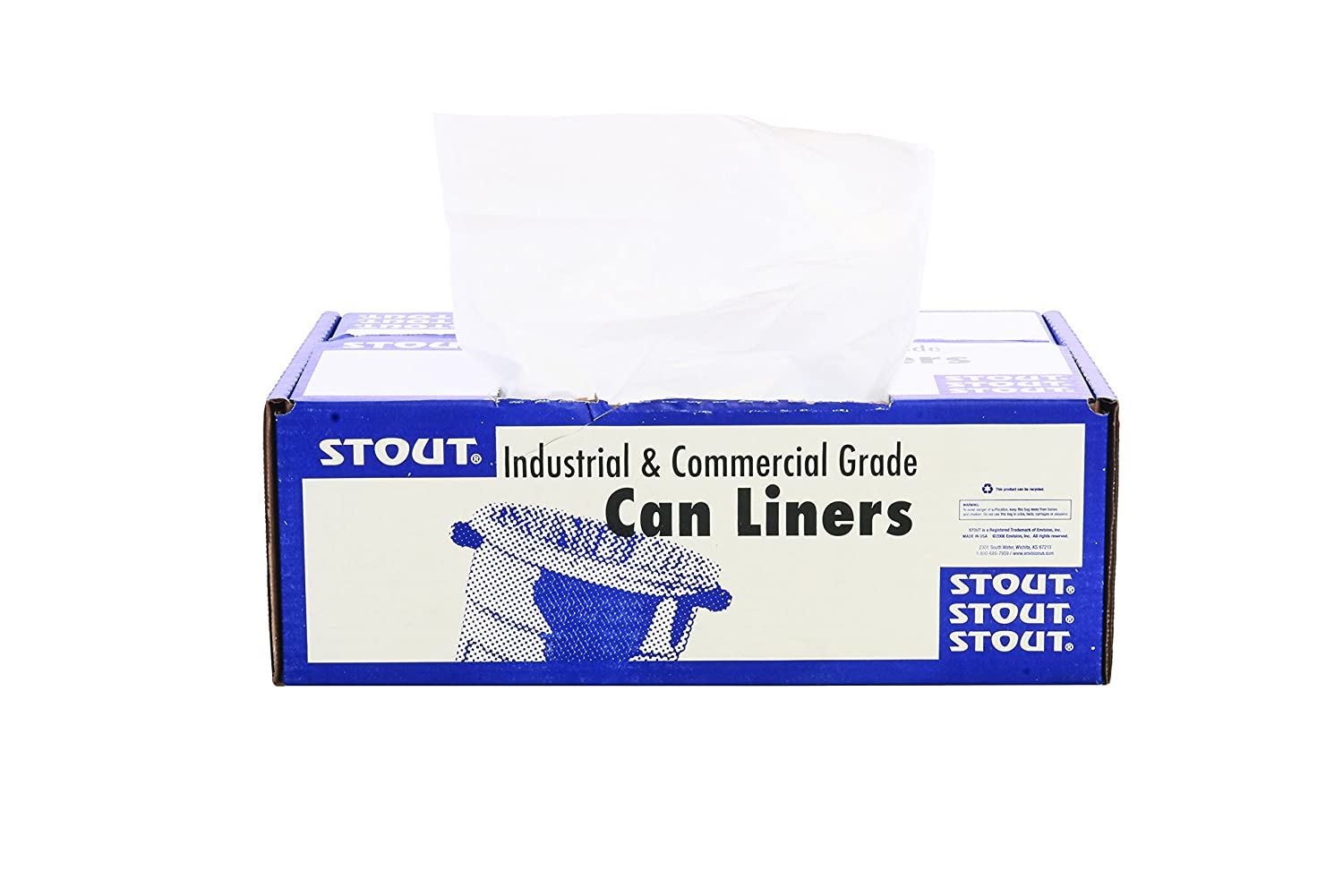 SEAL limited product 1 year warranty Stout by Envision ProPerformance 60 High Density Can Line Gallon