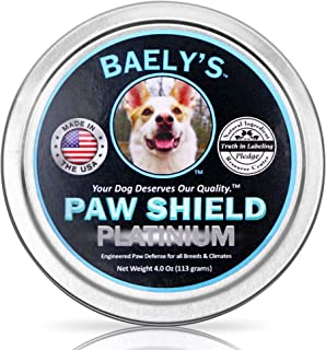 Dog Paw Protection Wax and Snout Nectar | Rejuvenating Relief for Raw Heat Damaged Paws | 3 oz Size | Paw Protector for Mu...
