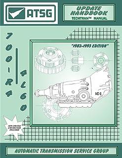 ATSG 700-R4 Atualização Manual de Reparo de Transmissão GM (Kit de Reparo de Transmissão 700R4 700R4 Conversor de Torque 7...