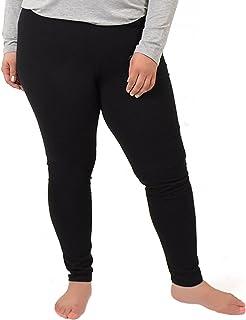 33d90b6025b Stretch is Comfort Women s Cotton Plus Size Leggings