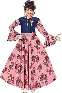 ARK DRESSES Girl's A-Line Maxi Dress