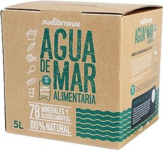 comprar comparacion Mediterranea Agua de Mar Alimentaria en Envase de 5 Litros