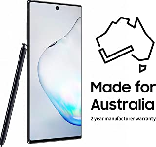 Samsung Galaxy Note10 Smartphone with S Pen, Aura Black