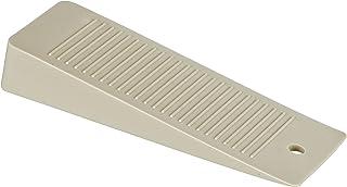 WENKO Bloc-porte beige - set de 2, Plastique, 3.5 x 1.5 x 10 cm, Beige