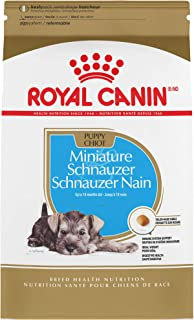 Royal Canin Miniature Schnauzer Puppy Breed Specific Dry Dog Food, 2.5 lb. bag