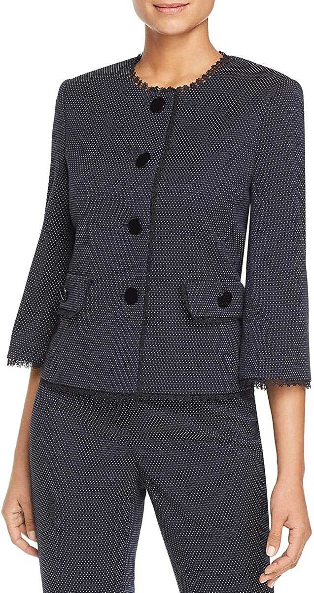 Karl Cheap mail order sales Lagerfeld Women's Jacket Jacquard Short 2021 new