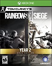 Tom Clancy's Rainbow Six Siege Year 2 Gold Edition (Includes Extra Content + Year 2 Pass Subscription) - Xbox One