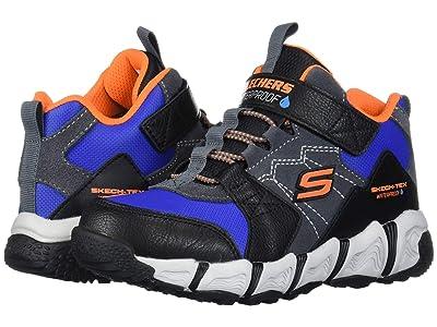 SKECHERS KIDS Sport Velocitrek 98244L (Little Kid/Big Kid) (Black/Charcoal) Boy