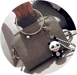 リングハンドバッグの女性年シンプルな野生のレトロなショルダーバッグ女性のバッグかわいいかわいい小さな袋