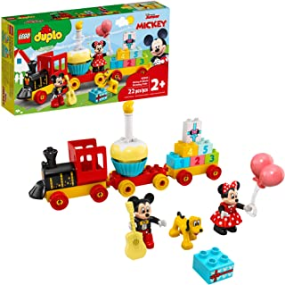 LEGO DUPLO Disney Mickey & Minnie Birthday Train 10941 Kids' Birthday Number Train; Learning and Building Playset, New 202...