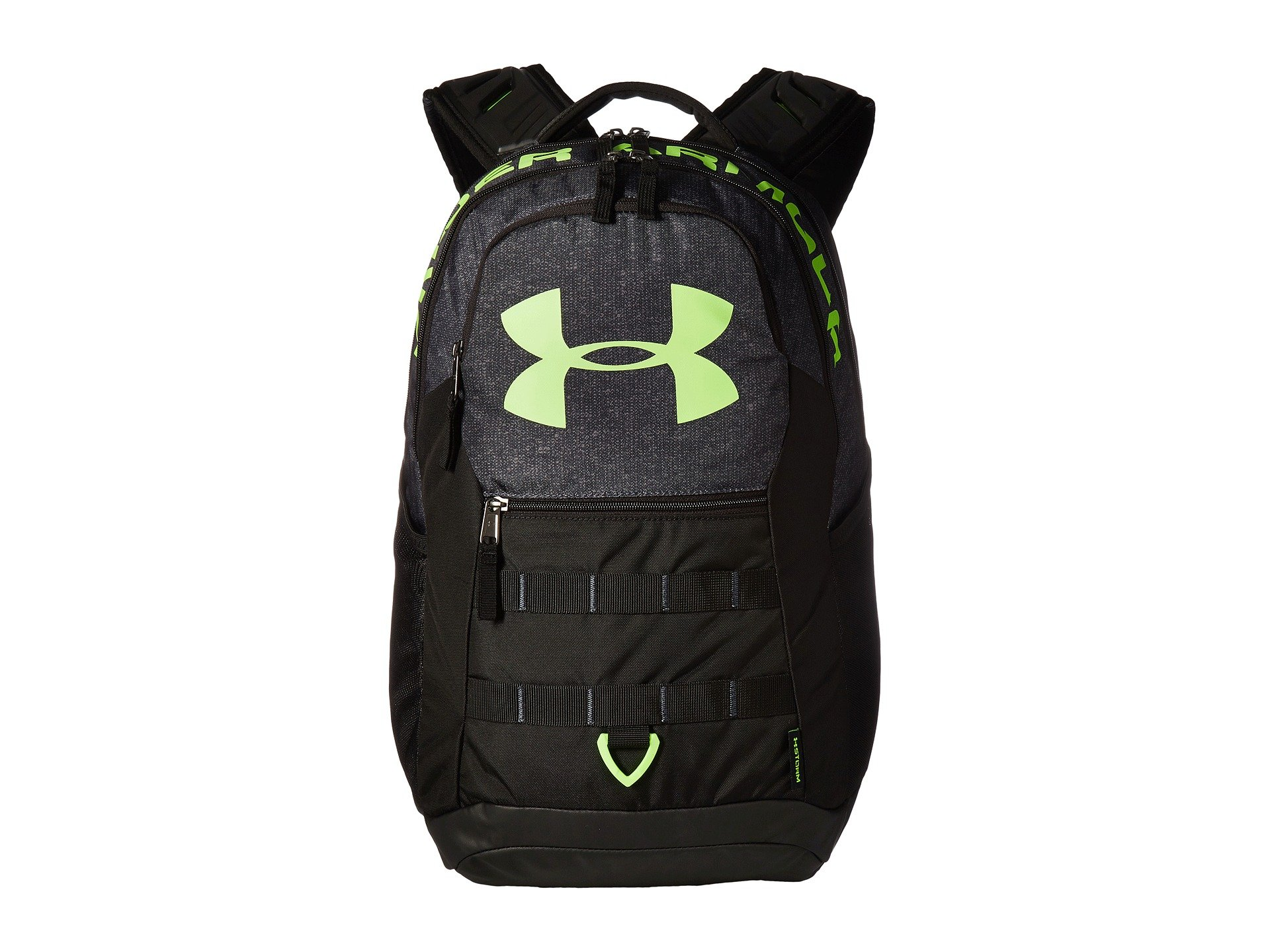 385fea9a5235 Under Armour Ua Big Logo 5.0 In Stealth Gray Black Quirky Lime ...