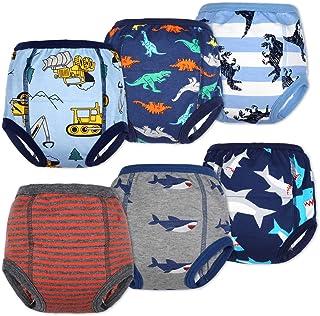 Flyish Direct - Vasino da bambino, in cotone, resistente, assorbente, per allenamento, per neonati e ragazzi, 12 m - 6 t B...