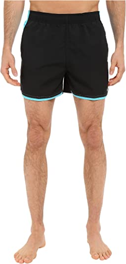 """Color Surge Current 4"""" Volley Short"""