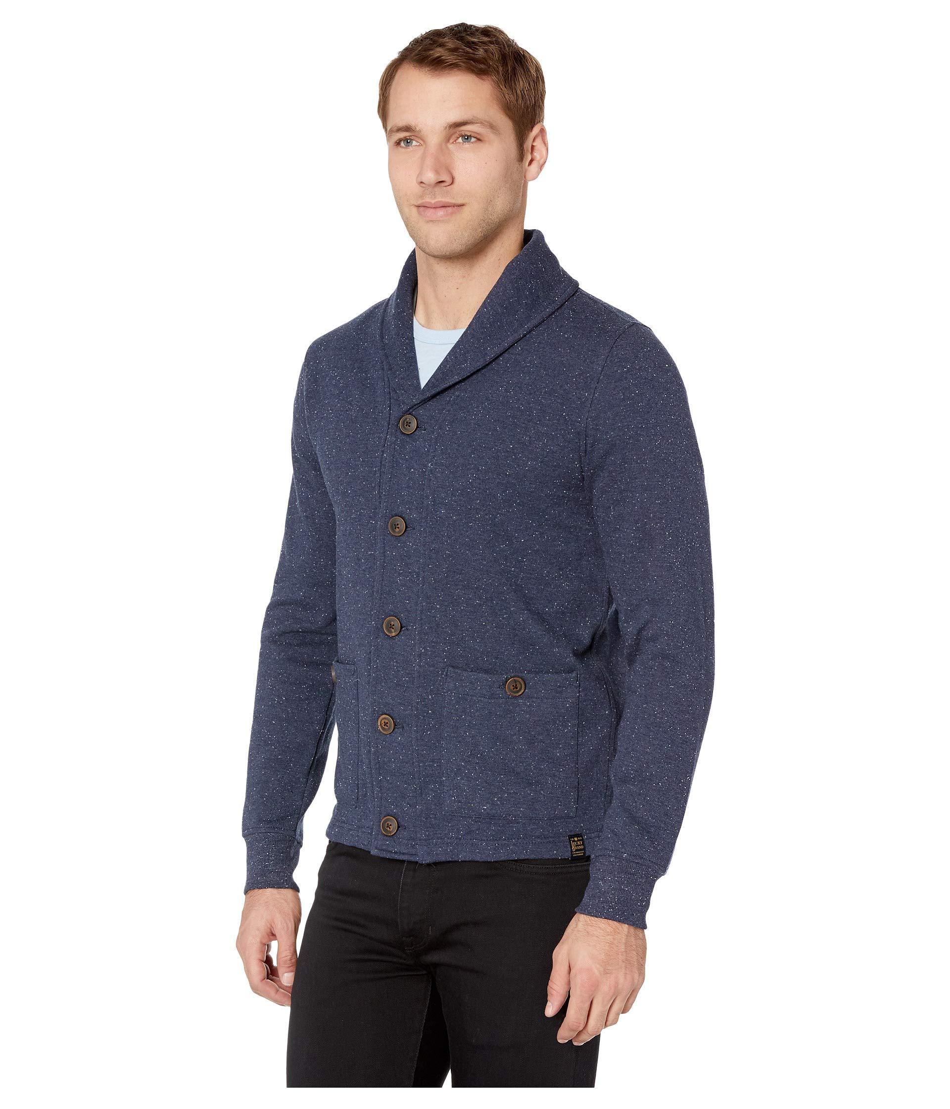 Shawl Sweatshirt Navy Cardigan Lucky Brand pBx4xA