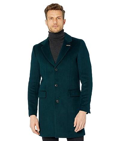 Scotch & Soda Classic Wool-Blend Overcoat (Arctic Teal) Men