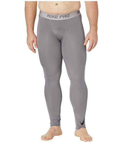 Nike Big Tall Pro Therma Tights (Gunsmoke/Atmosphere Grey/Black) Men