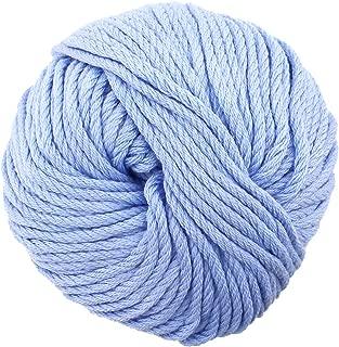 JubileeYarn Bamboo Cotton Chunky Yarn - Glacier Blue - 2 Skeins