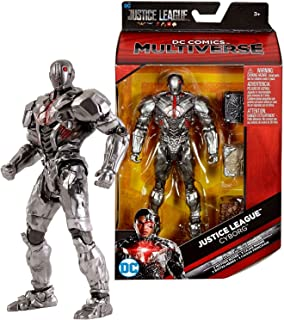 Multiverse DC Comics Year 2017 Justice League Series Exclusive 6 Inch Tall Figure - Masked Cyborg FHM02 with Atlantean, Human and Themysciran Mother Box's Part
