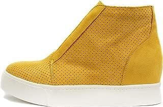 Pointer - Mid Ankle Platform Sneaker w/Hidden Wedge and Side Zipper