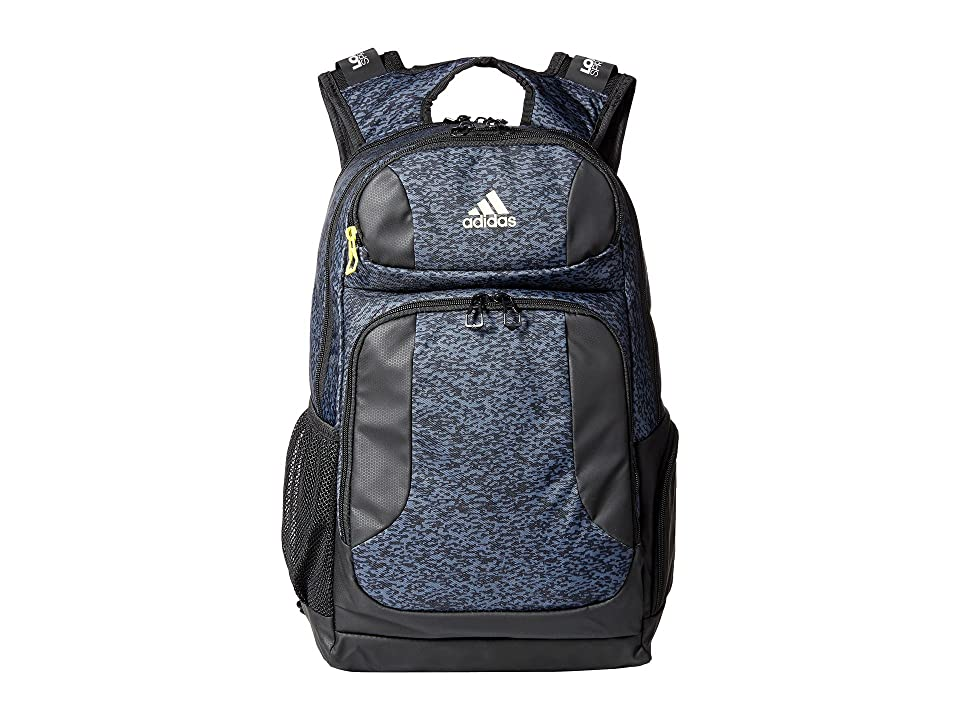 adidas Strength Backpack (Onix Pixel/Black/Shock Yellow) Backpack Bags