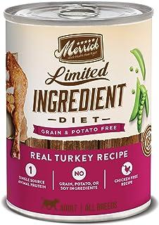 Merrick Grain Limited Ingredient Count