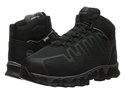 Timberland PRO Powertrain Alloy Toe Met Guard EH (Black Synthetic) Men