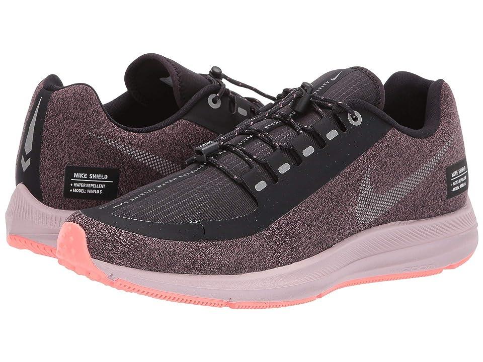 Nike Air Zoom WInflo 5 Run Shield (Smokey Mauve/Metallic Silver/Oil Grey) Women