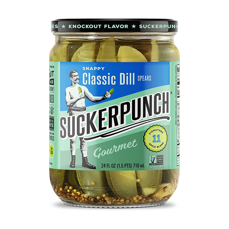 Suckerpunch 40% OFF Cheap Sale Pickle Spears Gourmet Popular popular Classic 24 Fl Oz Dill