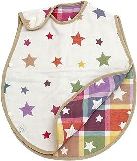 hiorie(ヒオリエ) 日本製 6重ガーゼ ベビースリーパー スター 赤ちゃん スリーパー 出産祝い 新生児~2歳