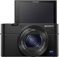 Sony RX100 IV 20.1 MP Premium Compact Digital Camera w/ 1-inch Sensor, 4K Movies and 40x Super Slow Motion HD DSCRX100M4/B